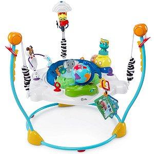 Centro de Atividade Bebê Jumper Interativo Musical 6M Até 11Kg 12 Atividades Portátil Journey Of Discovery Baby Einstein