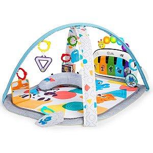 Tapete de Atividades Bebê Com Piano 70 Sons Em 3 Idiomas 7 Brinquedos 4 Modos de Atividade 4 In 1 Kickin Tunes Baby Eins