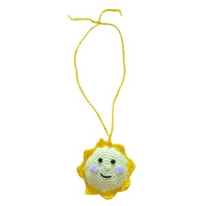 Colar Crochet Sol