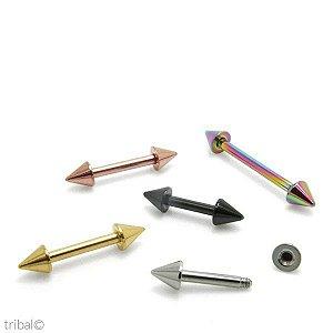 Microbell Aço Cirúrgico com Spikes