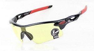 Óculos Esportivo Anti-reflexo Bike Mtb - Lentes Amarelas