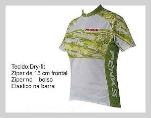 Camisa Bike Feminina Ciclismo Summer Verde - Penks