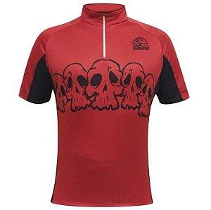 Camisa eco unissex vermelho