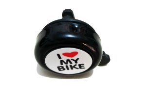 Buzina I Love My Bike Campainha Trim-trim