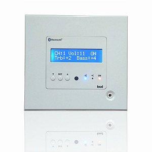 Amplificador Loud LAC NG - Nova Geração / Entrada Auxiliar TV1/2 - Bluetooth e Controle Remoto