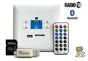 Amplificador AMCP de Parede KPBT-XT KeyPad Amplificado 50 watts - Blutooth - FM
