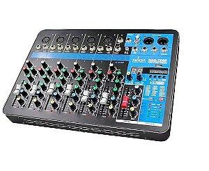 Mesa de Som Naga Console de Mixagem Profissional Nag-7dsp 7 Canais