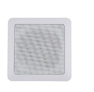 Arandela de Som Ambiente - Redonda ou Quadrada - AVCENTER 50-watts RMS