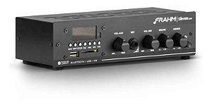 Amplificador - Receiver para Som Ambiente Frahm SLIM 1000 APP 40W