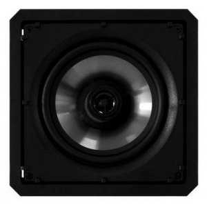 Caixa loud SQ6-120 BL - Quadrada de Embutir