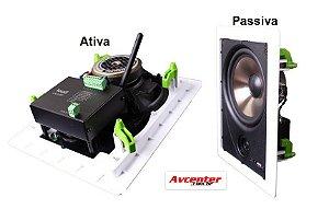 Kit Caixa Ret LR6 BT-A ATIVA C/ AUX borda normal LOUD