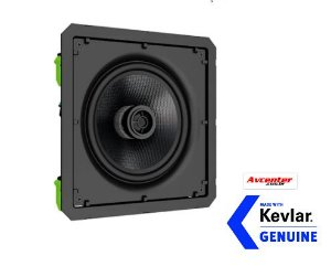 Caixa Loud CSK6 120 - Bordeless - Hi End -------KEVLAR -----RETA -------Ideal para Surround Embutido