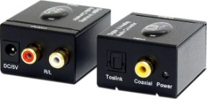Conversor Óptico para Áudio Analógico rca DA1 AMCP