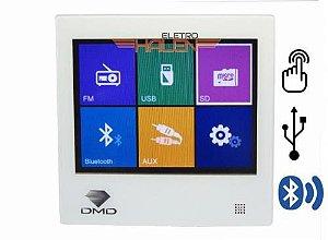 Amplificador de Parede Digital Touch Screen DM 837