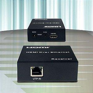 Extensor de Hdmi via Single Cat5/6 120mts  DMD EX-3024