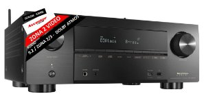 Receiver Denon AVR-X3600H 9.2 HDR10 HLG Dolby Vision Atmos--------ZONA2 VIDEO ---------Zona 2/3 Audio-------consulte Projetos de Home Theater