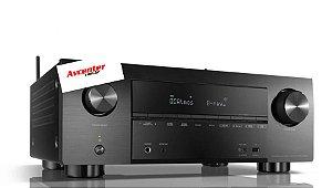 Receiver Denon AVR-S650H 5.2 Bluetooth 4K Dolby Vision WIFI----------------Spotfy--------5.2----------#hometheater