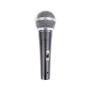 Microfone Dinamico com fio (com Chave liga desliga) PZ PROAUDIO  PZ-58
