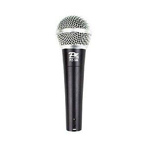 Microfone Dinamico com fio (semm Chave liga desliga) PZ PROAUDIO PZ-58I