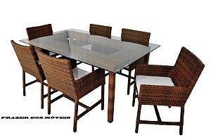 conjunto de mesa  STRAW