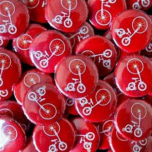 3_Botton Vermelho Bicicleta