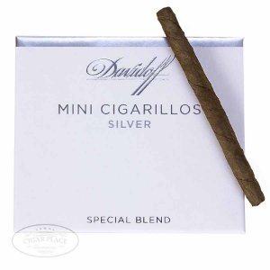 Davidoff - Mini Cigarrillos Silver