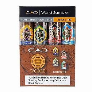 CAO World Sampler - Charutos