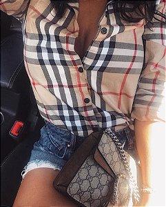 Camisa Social Feminina Burberry