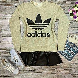 Moletom Mescla Adidas Inspired