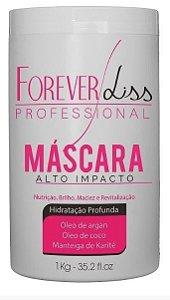 Forever Liss Alto Impacto Mascara de Hidratação 1Kg