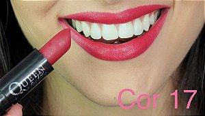 Batom Queen Makeup Matte - Cor 17