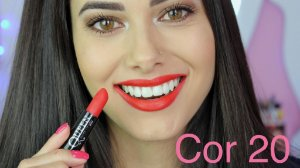 Batom Queen Makeup Matte - Cor 20