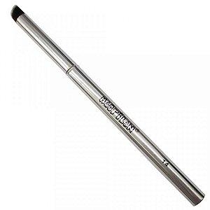 Pincel de Precisão Kabuki Chanfrado Linha Silver Macrilan S-14