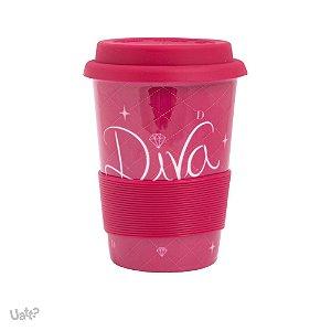 Copo de Porcelana - Diva