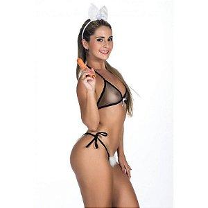 Mini Fantasia Coelha Da Playboy