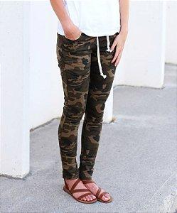 Calça Jeans Camuflada