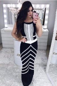 Vestido Tricot Longo Yara