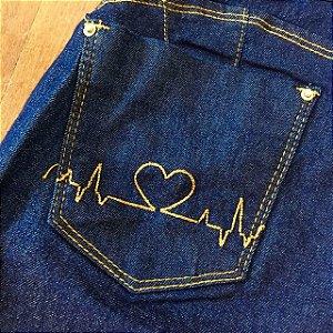 Calça Jeans Flare Love