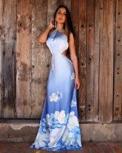 Vestido Bahamas Royal