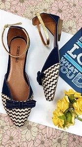 Sapatilha Azul Marinho Torricella