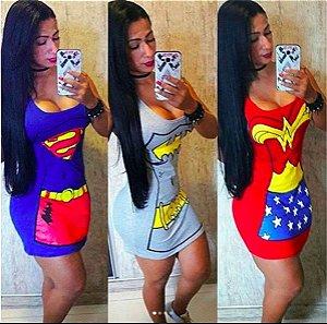 Vestido Carnaval Super Heroína
