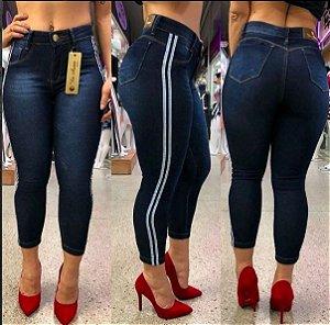 Calça Jeans Skinny Listras