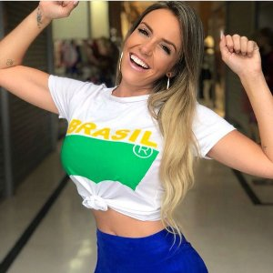 T-shirt Torcida Brasileira
