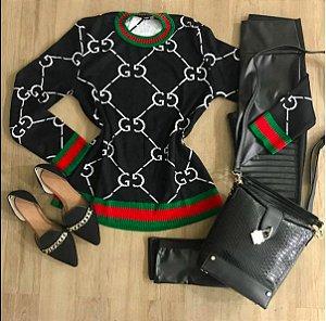 Tricot Inspiração Gucci