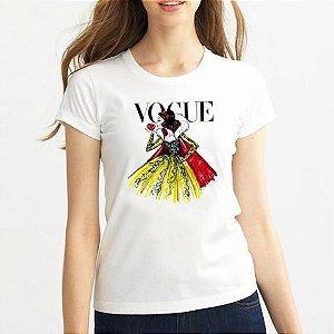 Tee Branca de Neve Vogue