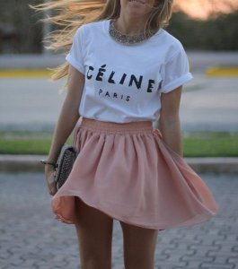 Tee Céline Paris