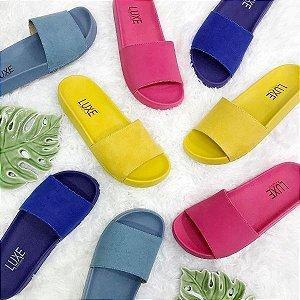 Slide Color Luxe Camurça