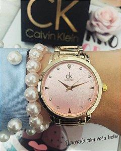 Relógio linha feminina - Brilho