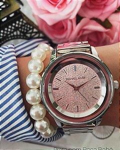 Relógio linha glitter