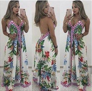 Vestido Longo Carlinha - Linha Importados